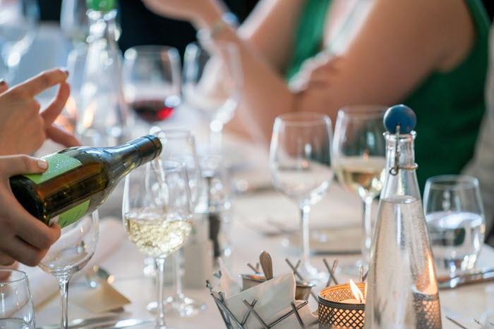 Wine in Restaurant